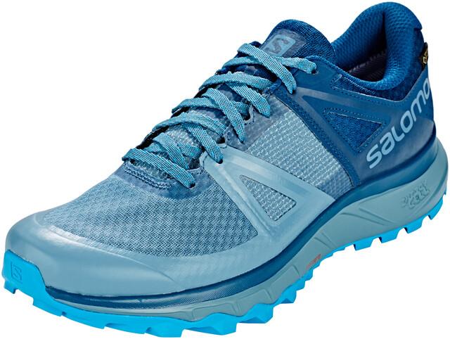Salomon Trailster GTX Shoes Herren bluestoneposeidonhawaiian ocean